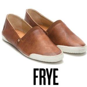 FRYE Melania Chelsea Sneaker in Cognac